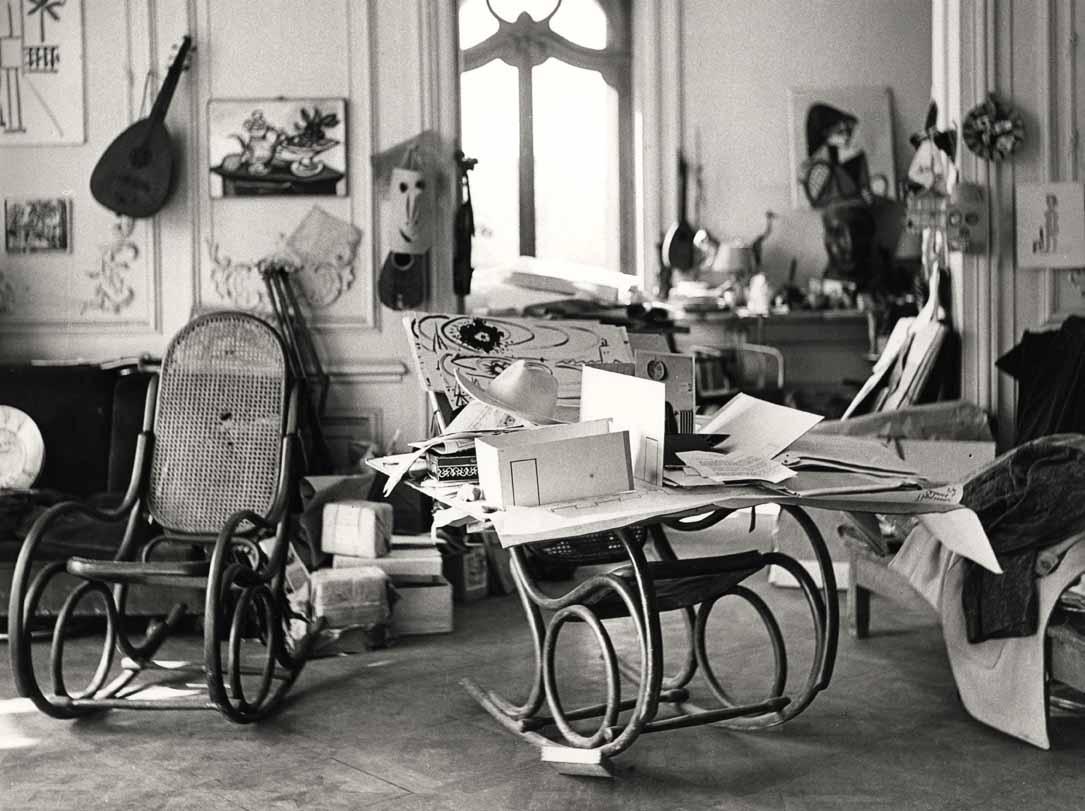 Int rieur de l 39 atelier de picasso circa 1965 for L interieur movie