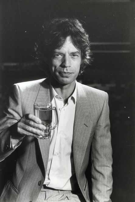 Mick Jagger 1980s