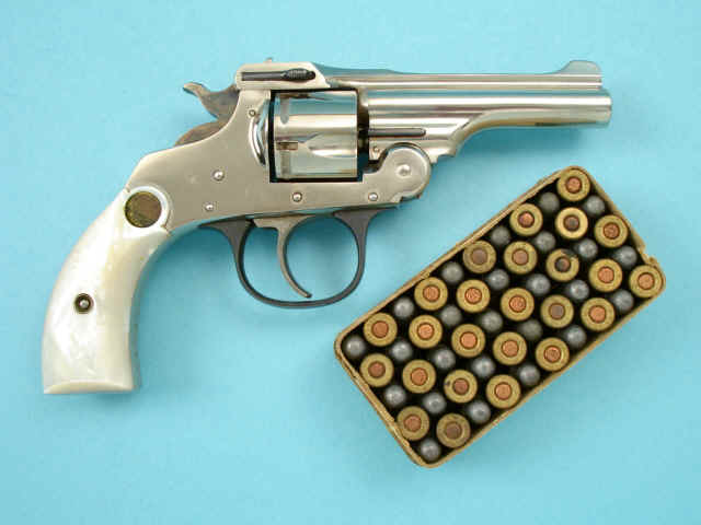 In auctions hopkins amp allen safety police double action revolver