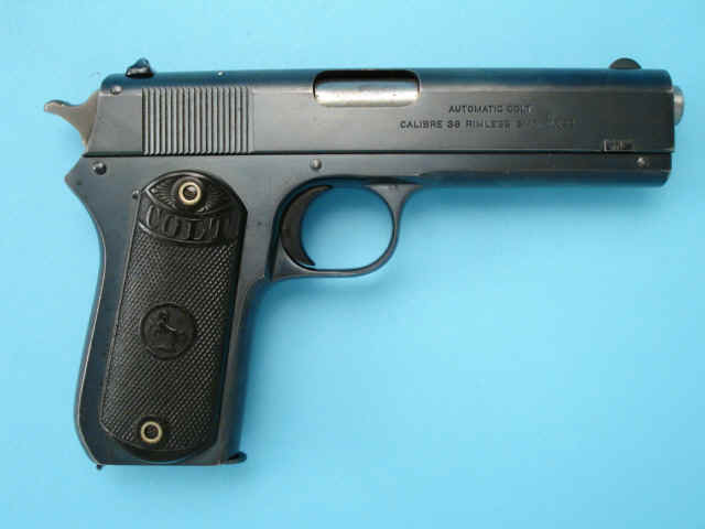 Priced In Auctions Colt Model 1903 38 Rimless Ser
