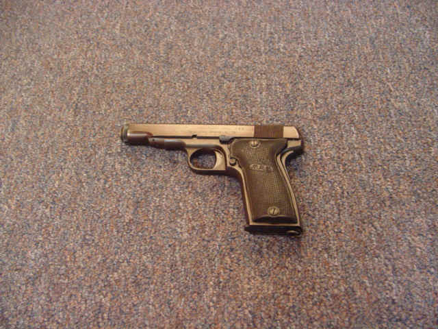 Priced in Auctions : French MAB Model D Pistol - Ser # 85364