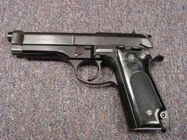 Priced in Auctions : Beretta Model 92 Pistol - Ser # B05735Z