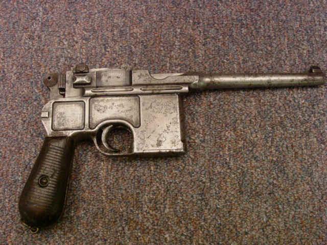 Mauser Broomhandle Pistol