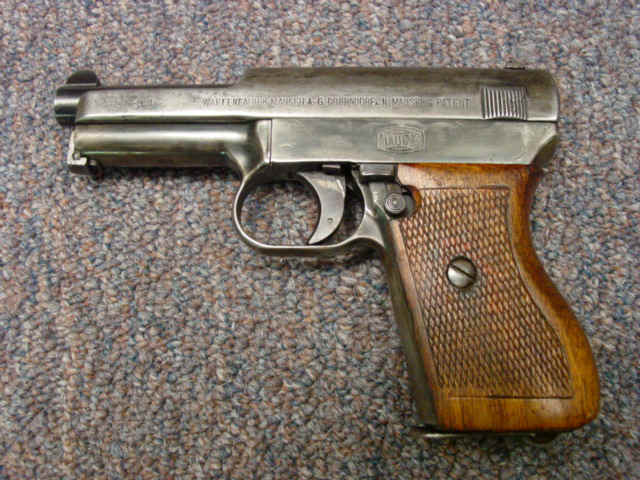 Priced in Auctions : Mauser M1934 Pocket Pistol - Ser  # 101