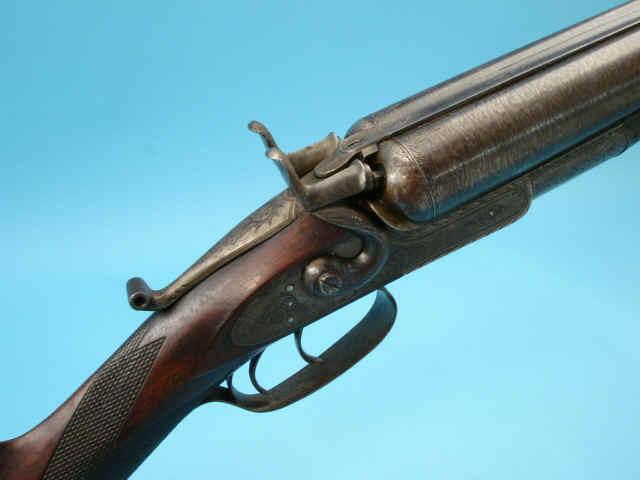 Remington Amp Sons Model 1873 Whitmore Grade 3 Hammer Double