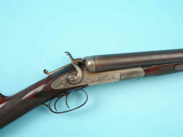 Model 1874 double barrel hammer 10 gauge shotgun hlebooks com