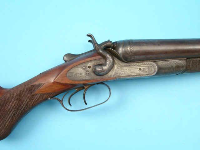 1879 match grade hammer double barrel 10 gauge shotgun hlebooks com