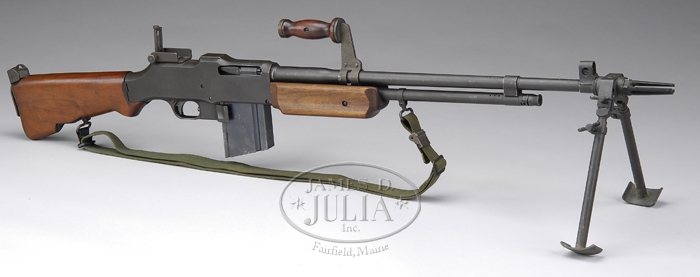 priced in auctions us browning automatic rifle bar m918a2 by